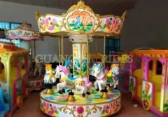 6 Seats Mini Carousel
